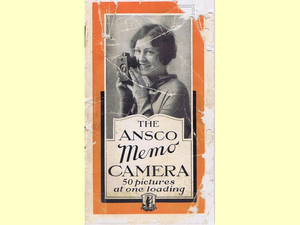 The Ansco Memo Camera  -  unbekannt